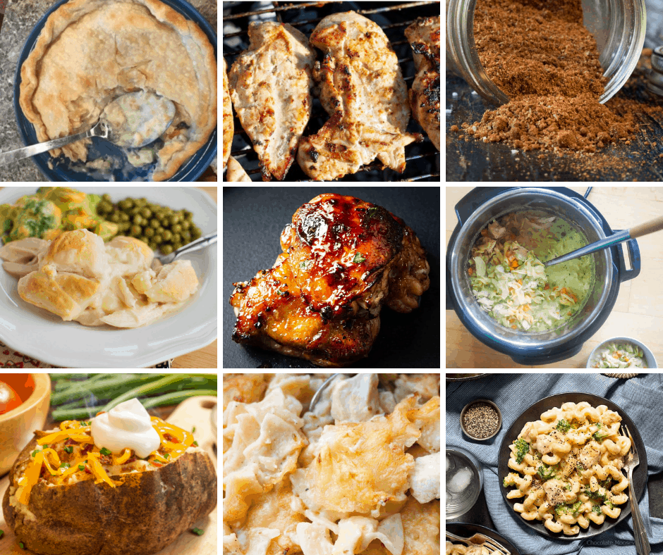 There are nights when I wish I had some random dinner ideas to look at for dinner inspiration! So I made this list to make dinnertime easier!