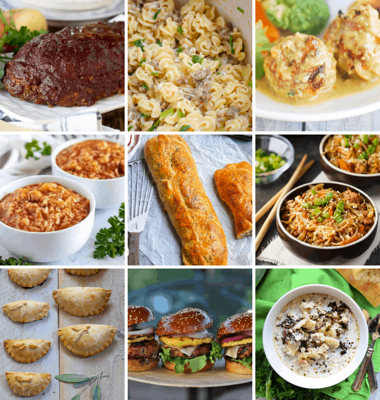 Check out all these ground pork dinner ideas! You will have so many new recipes to try and add to your meal plan.