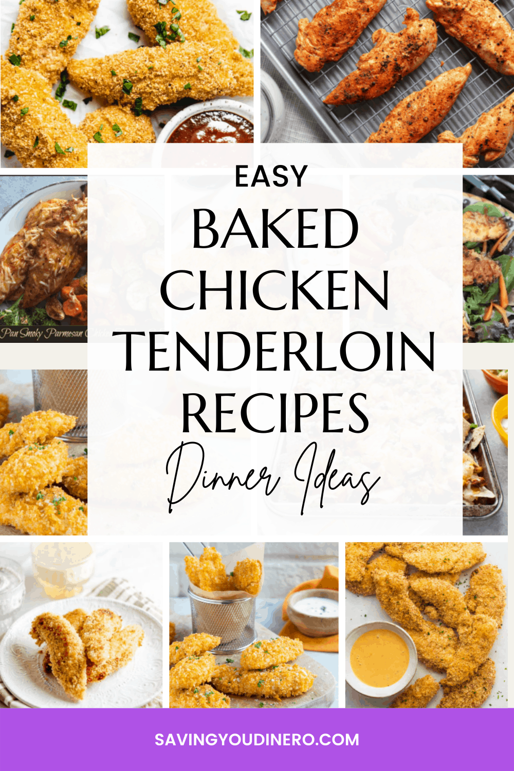 Need an easy dinner idea? Check out these baked chicken tenderloin recipes! With just a few ingredients you can have a delicious dinner!