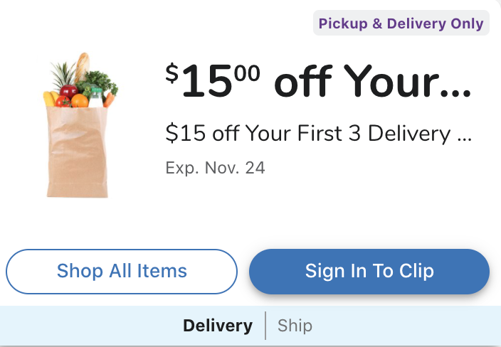 Kroger Delivery is now available in Florida! Check out my tips to make sure you get the best deals and perks! Plus find out how to get $20 cashback!