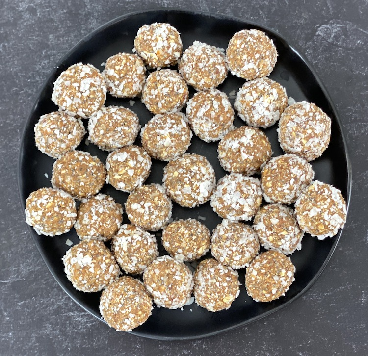 Learn how you can make these healthy 7-ingredient energy balls with Dates. It's a no-bake recipe can throw it together in about 10 minutes!
